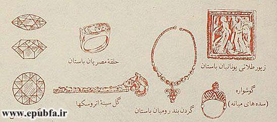استفاده از جواهرات از چه زمانی آغاز شد؟