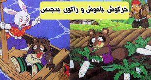 قصه مصور کودکانه خرگوش باهوش و راکون بدجنس