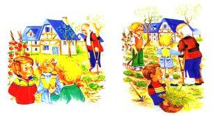 داستان کودکانه: آقای گیلز و باغش