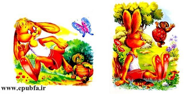 داستان-کودکانه-خرگوش-صحرایی-و-لاکپشت