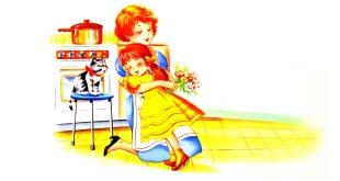 داستان-کودکانه-مامان،-تولدت-مبارک!