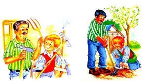 داستان-کودکانه-و-آموزنده-باغبانی