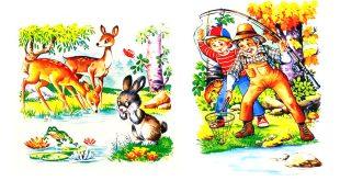 داستان-کودکانه-و-آموزنده-لذت-ماهی-گیری!!!