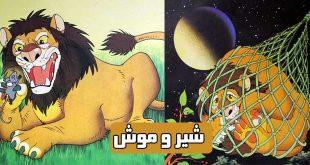 کتاب داستان مصور کودکانه شیر و موش