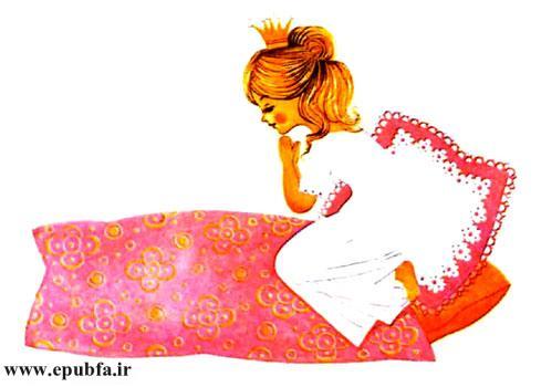 گلبرگ قبل از اینکه داخل بستر خواب بشود دعایش را خواند و از خداوند تشکر کرد
