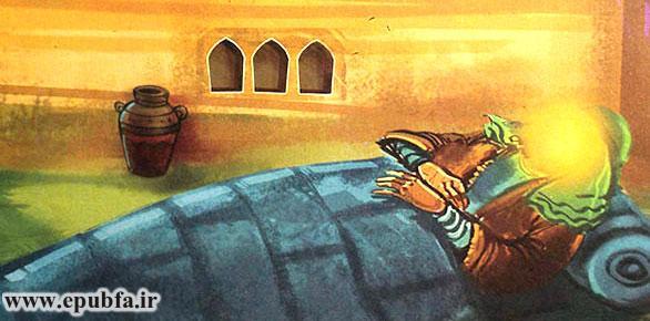 امام علی با ازخودگذشتگی و شجاعت فراوان، در بستر رسول اکرم خوابید تا ایشان از شهر خارج شوند