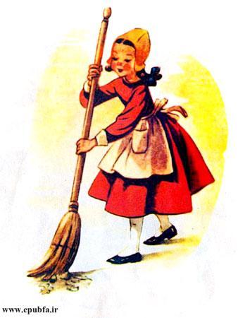 ما در کارهای خانه نیز دونفری به مادرمان کمک میکنیم.
